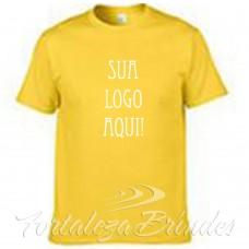 Camisas serigrafadas-amarela