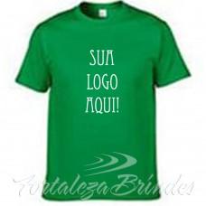 Camisas serigrafadas-verde