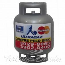 Imã de geladeira Formato Botijão de Gás  - Min 100 unid - Para outras quantidades consultar. Verificar Disponibilidade.